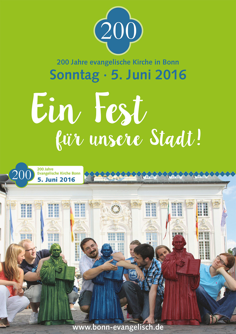 200 Jahre evangelische Kirche in Bonn