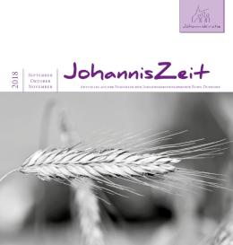JohannisZeit Gemeindebrief